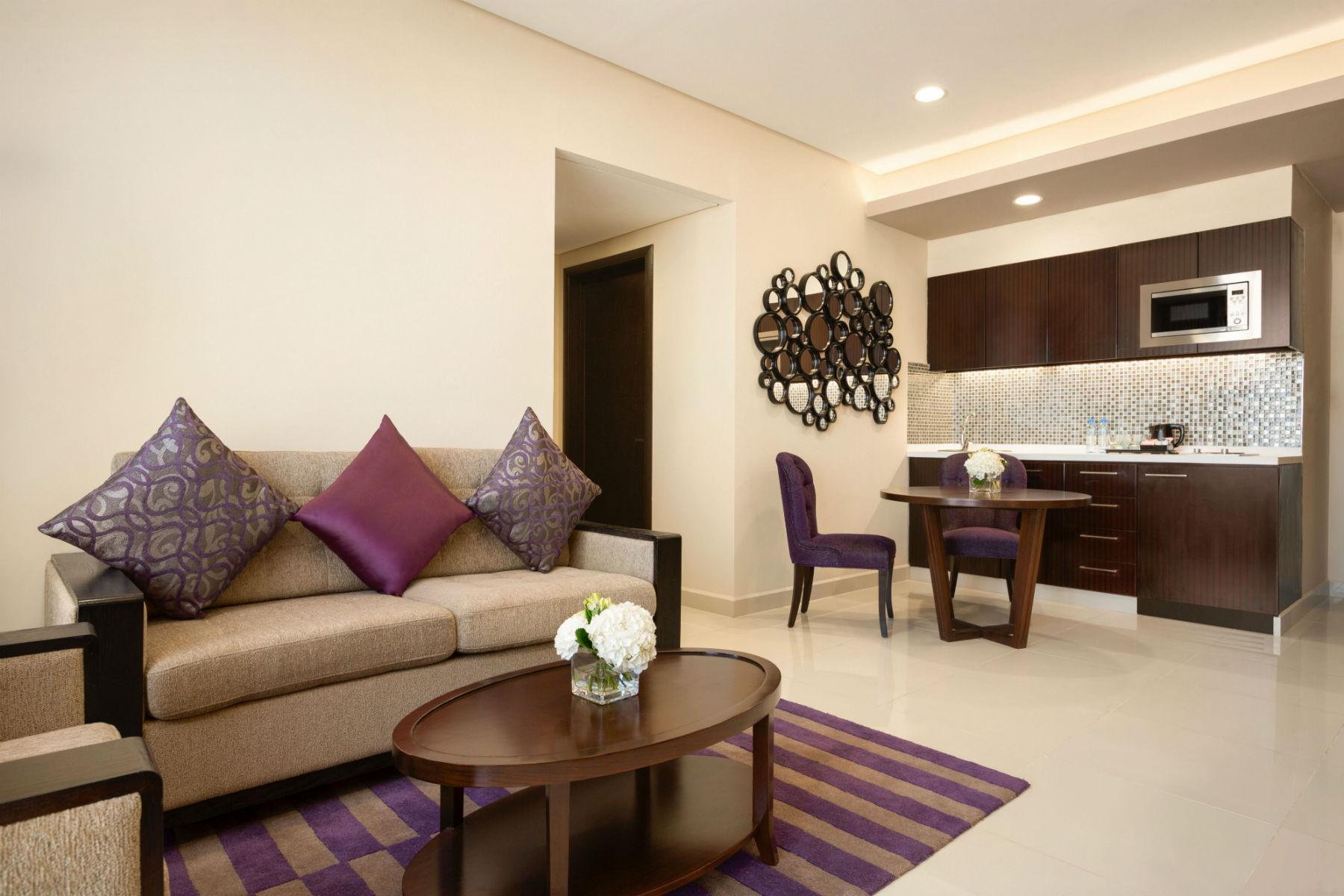 One Bedroom Suite in Bahrain | Wyndham Garden Hotel Manama