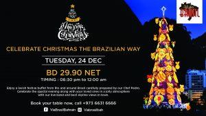 Christmas Eve at Via Brasil