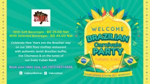 New Year Celebration at Via Brasil