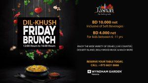 Dil-Khush Friday Brunch at Jashan