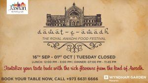 Dawat-E-Awadh Food festival at Jashan